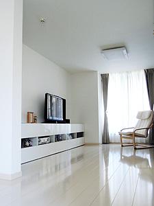 東京都大田区M邸。シンプルモダンの二世帯住宅