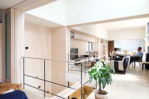 東京都品川区K邸。建築家設計の住宅