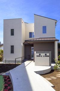 神奈川県川崎市S邸。シンプルモダンな二世帯住宅