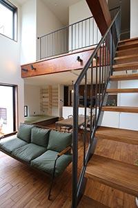 大阪府大阪市S邸。暮らすほど愛着のわく家