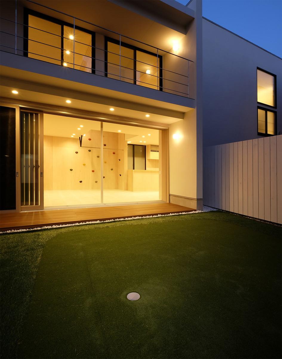 東京都品川区 ゴルフを楽しむ家