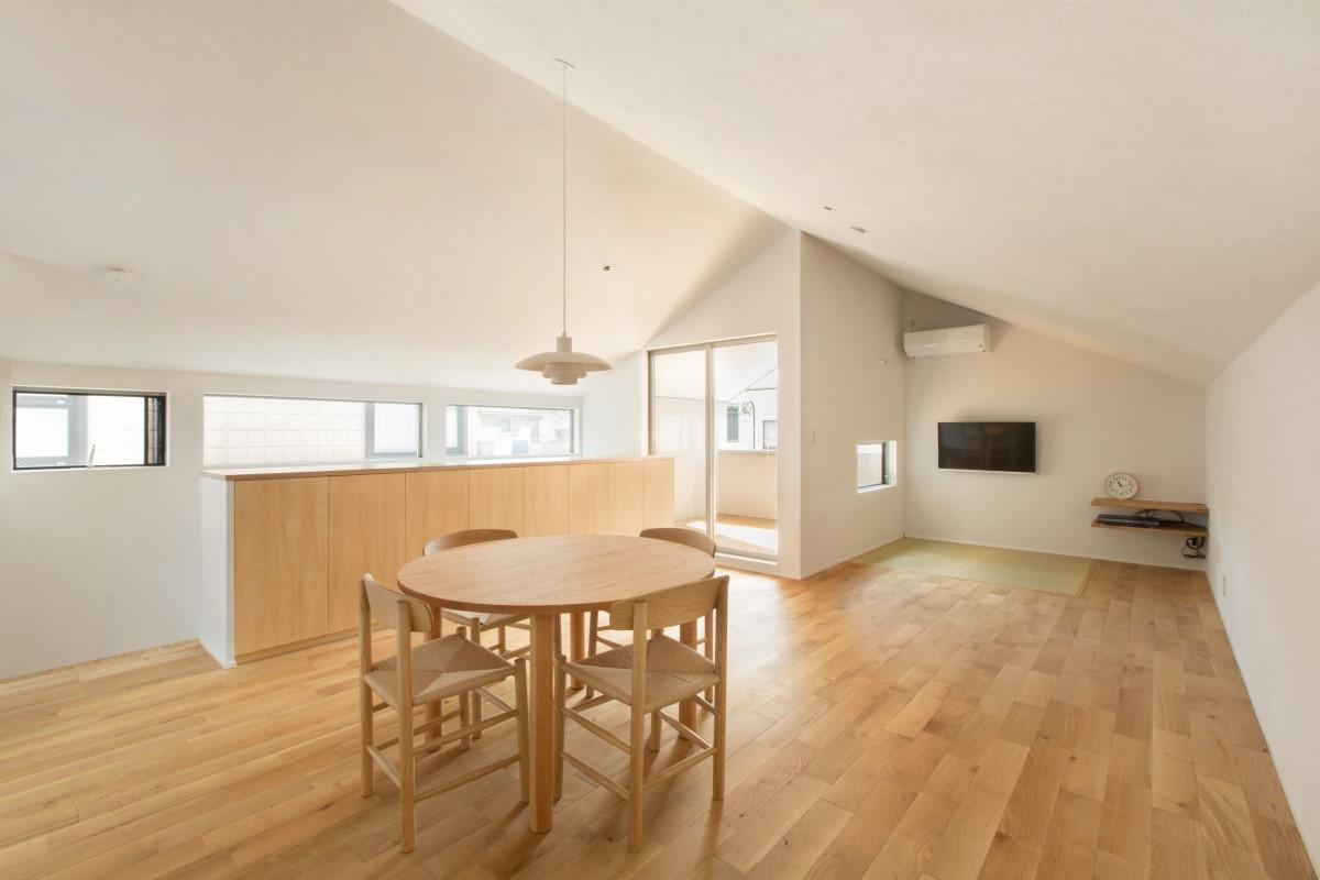 東京都世田谷区 センスのよさと空間の広さを感じる住まい